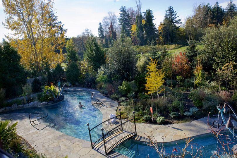 Soaking Pool at Ruby's Spa, McMenamins Edgefield