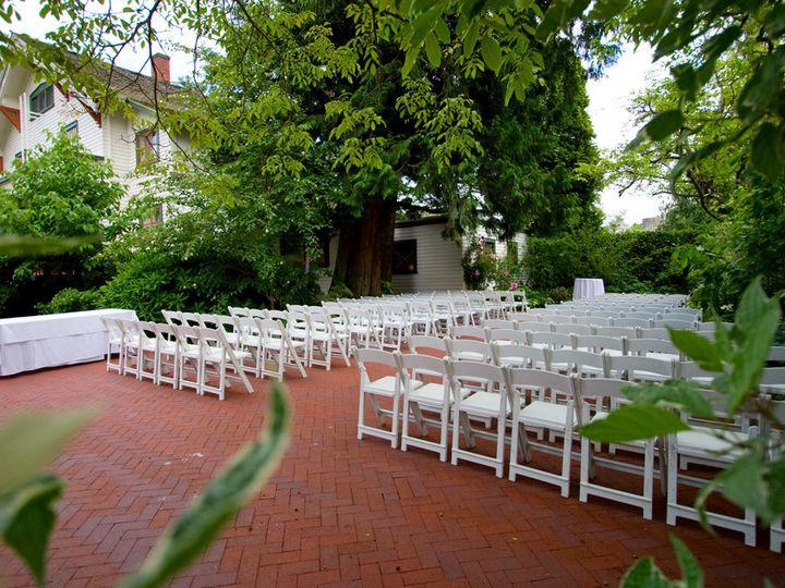 Tmx 1383862771460 Ad Hse Yard Ceremony Straigh Troutdale wedding venue