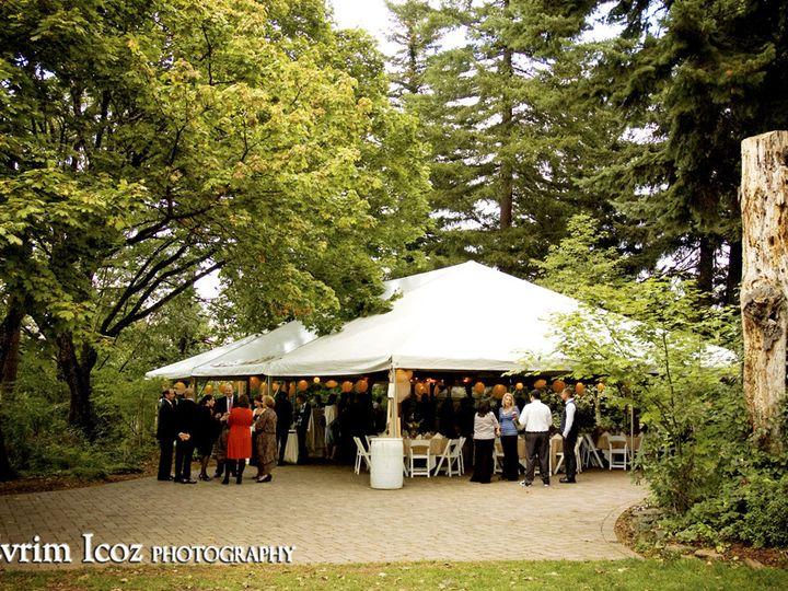 Tmx 1383863270684 Evrim Outside Tent Fir Grov Troutdale wedding venue