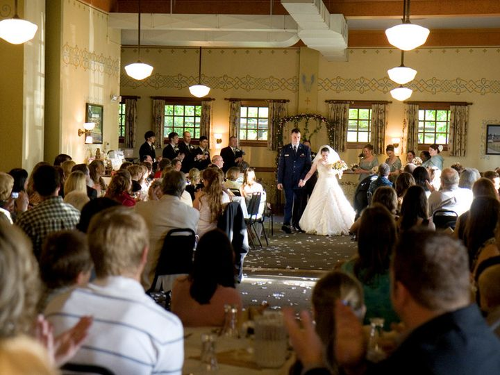 Tmx 1383864378109 Bbh Ceremony With Guests At Rounds  Troutdale wedding venue