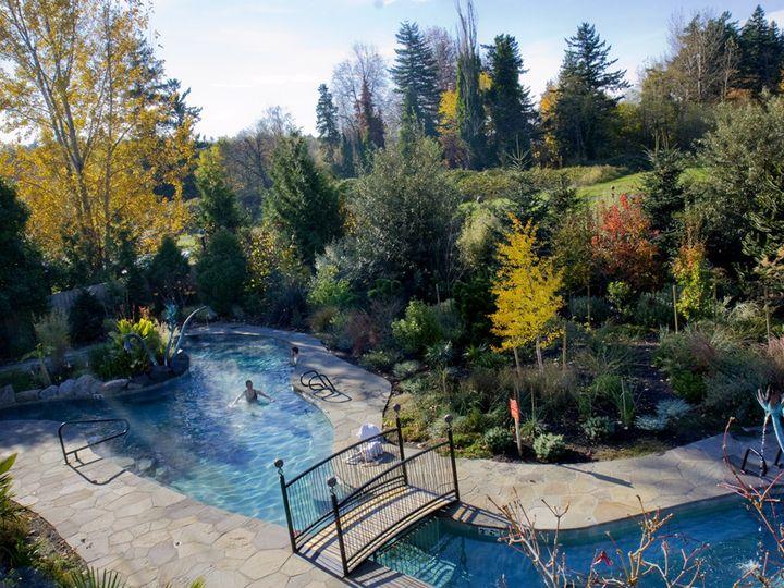Tmx 1384213490743 Soaking Pool Fall Leave Troutdale wedding venue