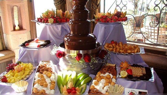 chocolate fountain buffet 51 1041627