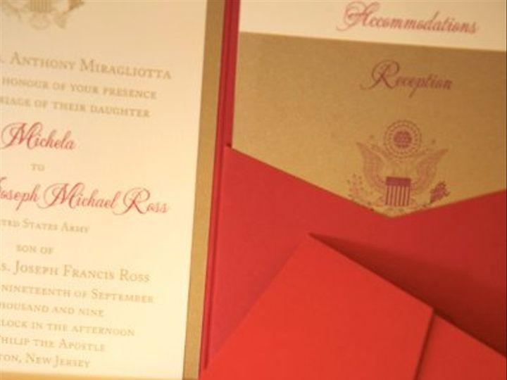 Tmx 1256679190973 Michela1 Englewood, New Jersey wedding invitation