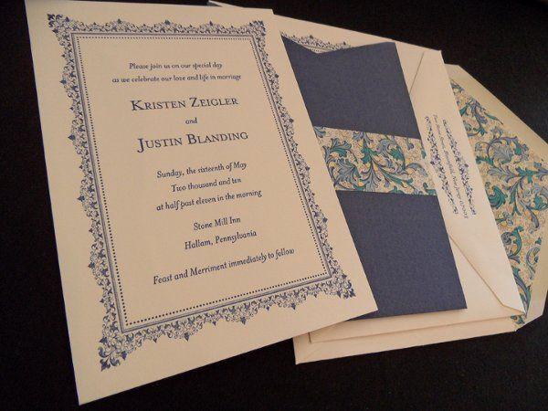 Tmx 1296244400854 SAM0497 Englewood, New Jersey wedding invitation