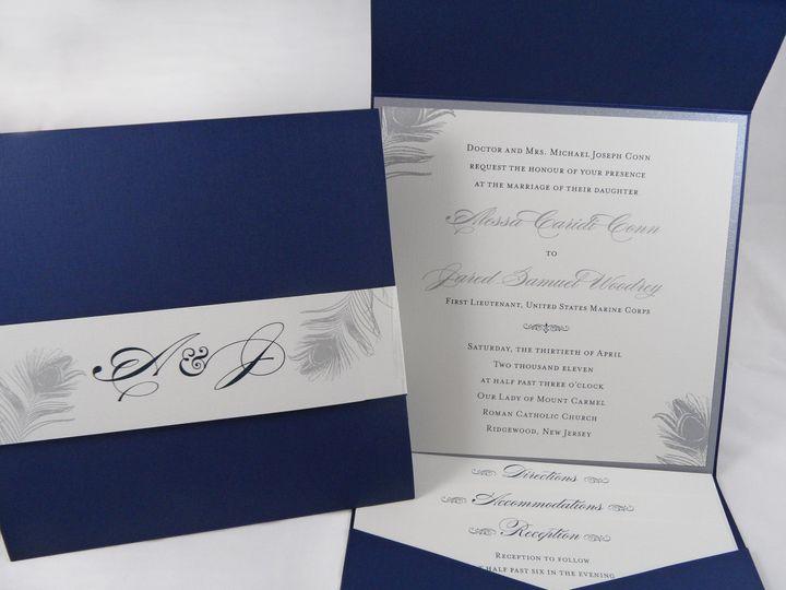 Tmx 1377708660719 Conn 2 Englewood, New Jersey wedding invitation