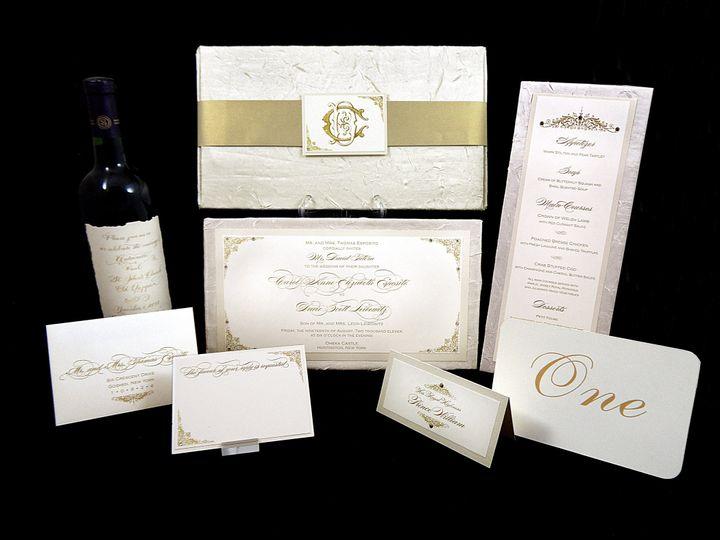 Tmx 1377708808159 Royal Wedding3 Englewood, New Jersey wedding invitation