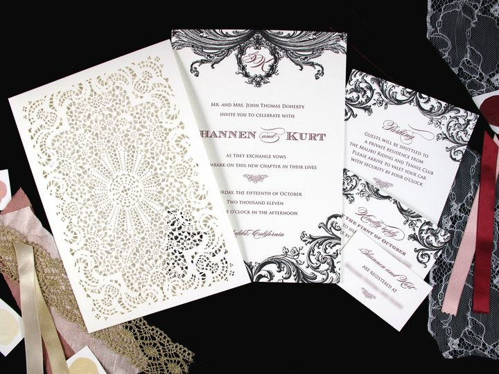 Tmx 1377709090195 Shannenfbpost2 Englewood, New Jersey wedding invitation