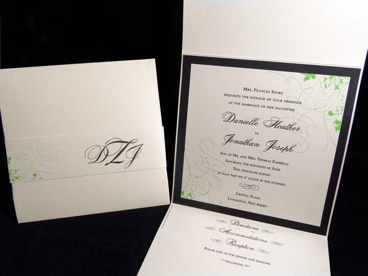 Tmx 1377709112331 Swire 1 Englewood, New Jersey wedding invitation