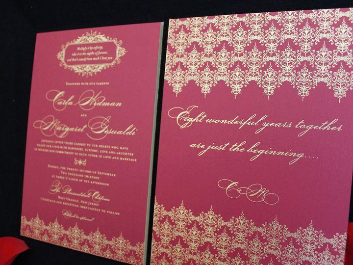 Tmx 1473784663527 Gesualdilp 11 Englewood, New Jersey wedding invitation