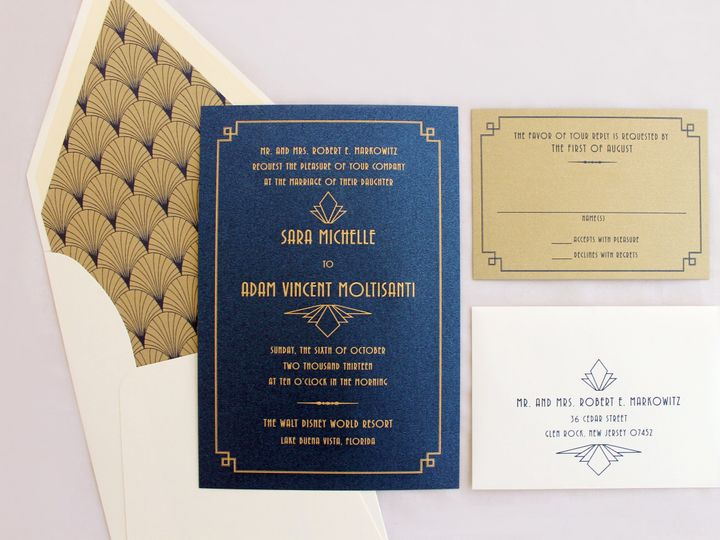 Tmx 1473785036789 Markowitzlp 2 Englewood, New Jersey wedding invitation