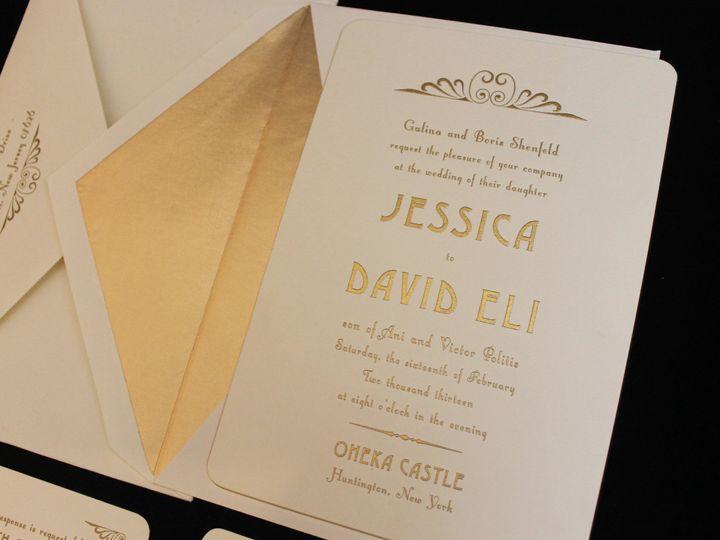 Tmx 1473785551059 Shenfeldlp 1 Englewood, New Jersey wedding invitation