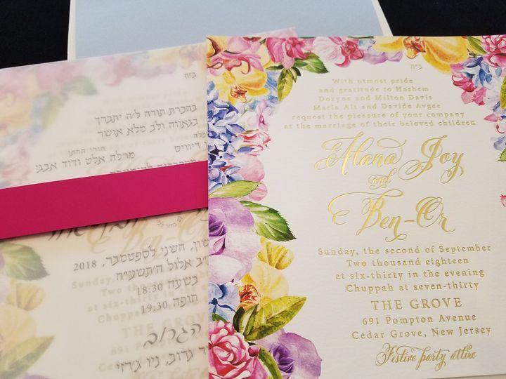 Tmx 1536869830 91951d095563546f 1536869827 1d3bbb6158f068d6 1536869482696 4 Davis Englewood, New Jersey wedding invitation