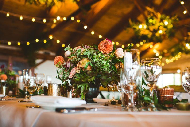 Garden Indoors Wedding