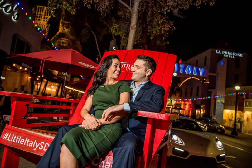 Little Italy Engagement