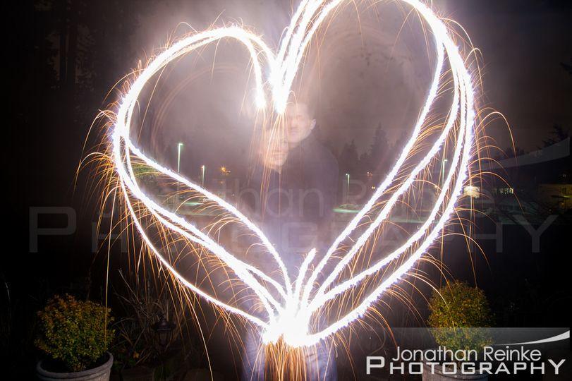 sparklers heart new years eve 2013 jonathan reinke