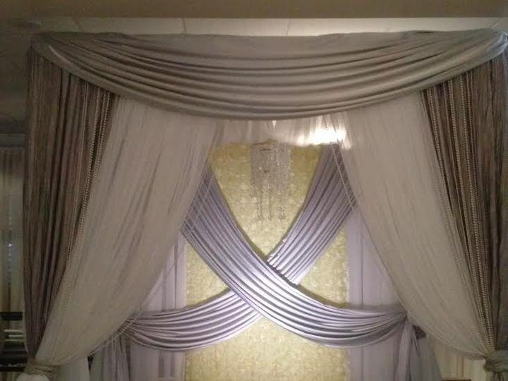 Tmx 1398799299512 Yellow And Silver Chuppa North Charleston, SC wedding rental