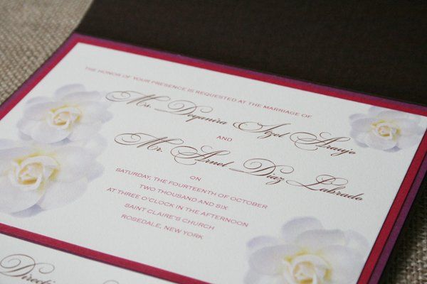 Tmx 1300075977357 Invite1 South Orange wedding invitation