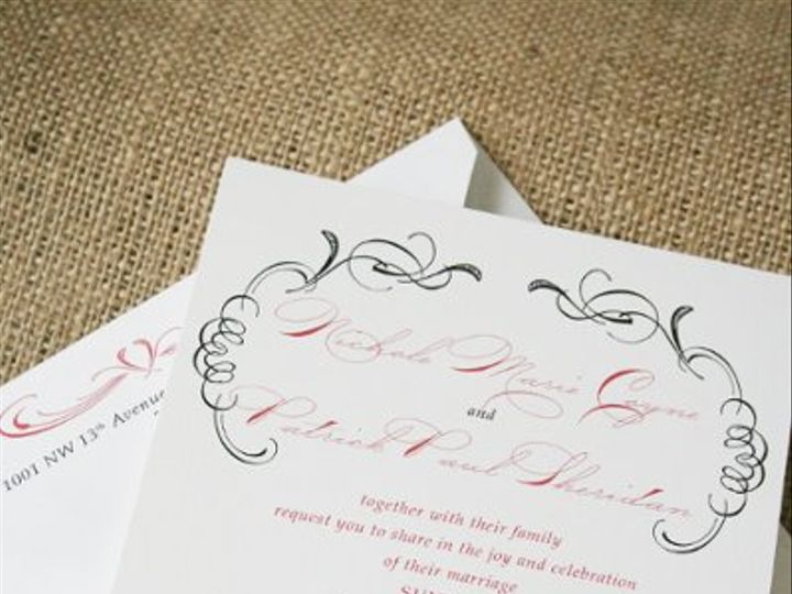 Tmx 1300075998935 Invite South Orange wedding invitation