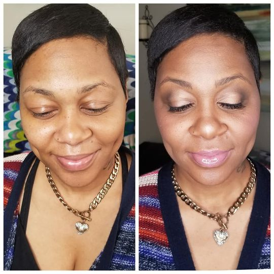 Natural/ neutral makeup