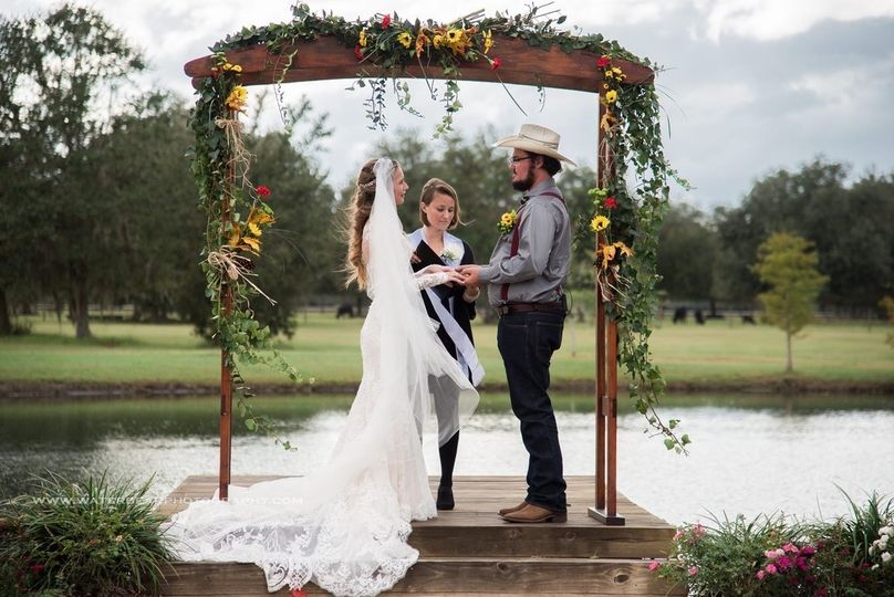 C-Bar Ranch Wedding 10-19