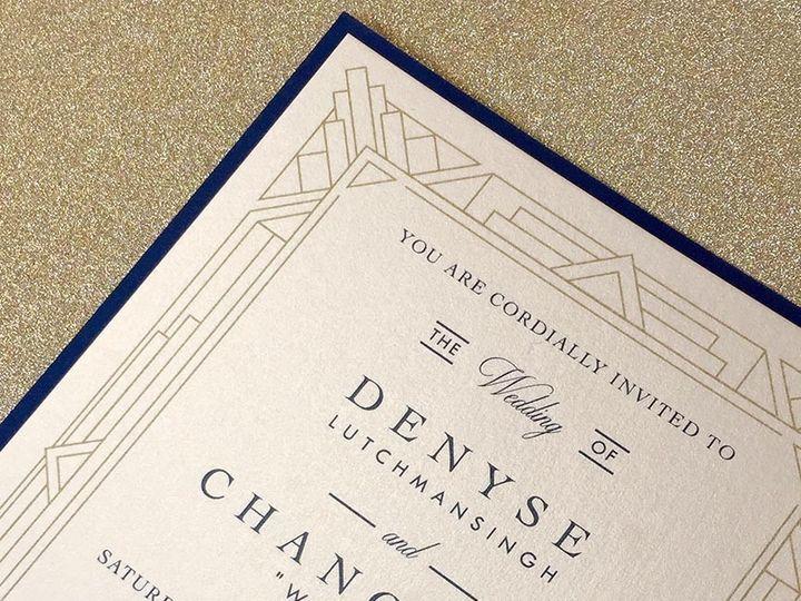 Tmx 1478715512478 Denyse And Wonnie Web East Bridgewater wedding invitation