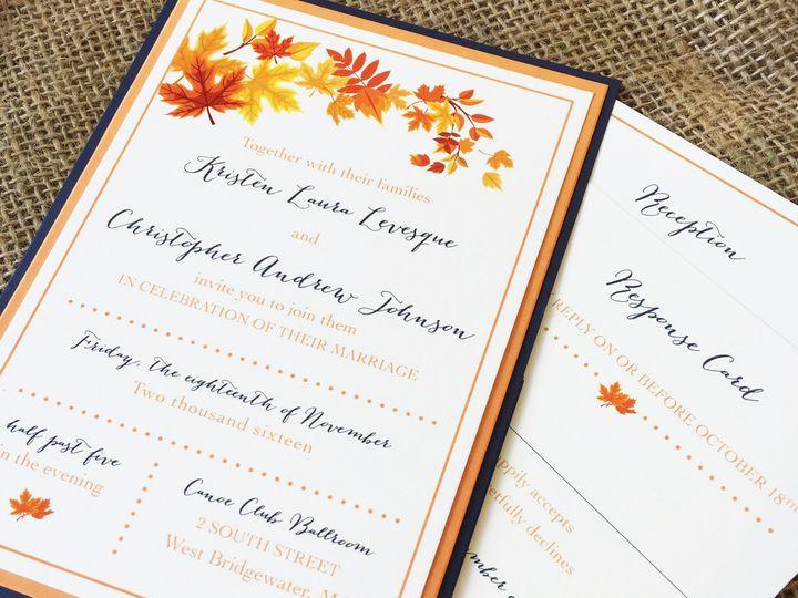 Tmx 1478715513156 Fullsizerender 2 East Bridgewater wedding invitation