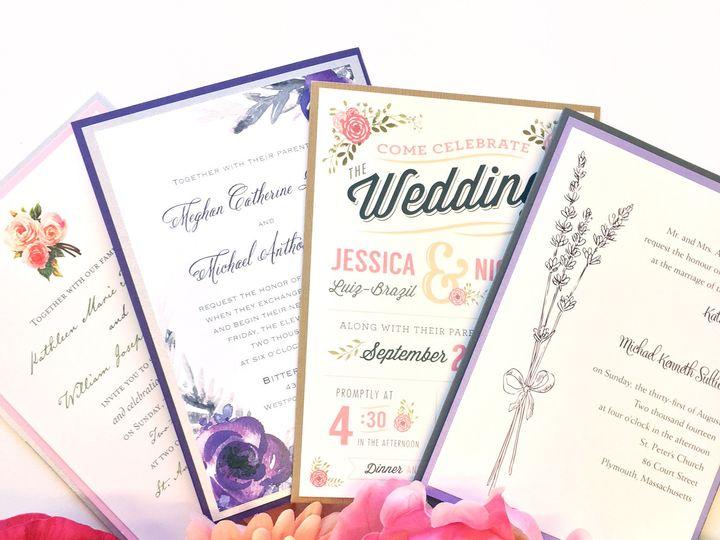 Tmx 1478715523681 Img8219 East Bridgewater wedding invitation