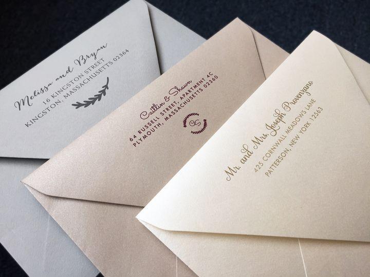 Tmx 1478715545633 Img8968 East Bridgewater wedding invitation