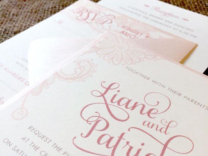 Tmx 1478716199091 Img8356 East Bridgewater wedding invitation