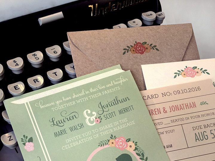 Tmx 1478716411461 Lauren Walsh Book East Bridgewater wedding invitation