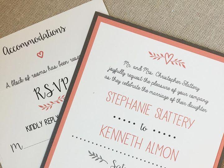 Tmx 1478720294545 Web Img9010 East Bridgewater wedding invitation