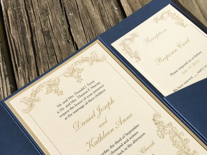 Tmx 1479737858029 Image3 East Bridgewater wedding invitation