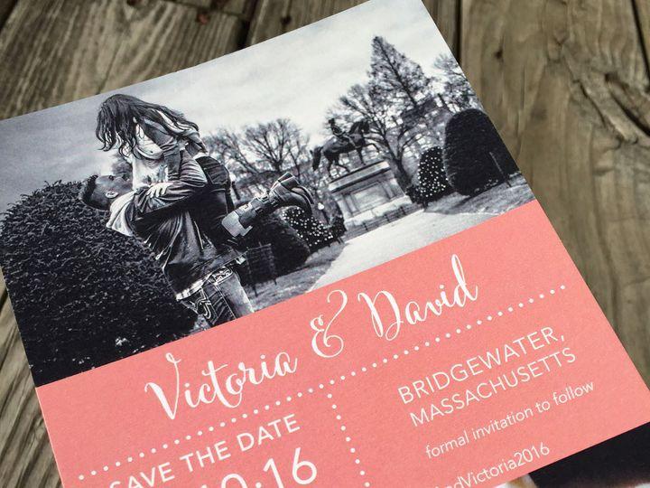 Tmx 1479737894295 Image8 East Bridgewater wedding invitation