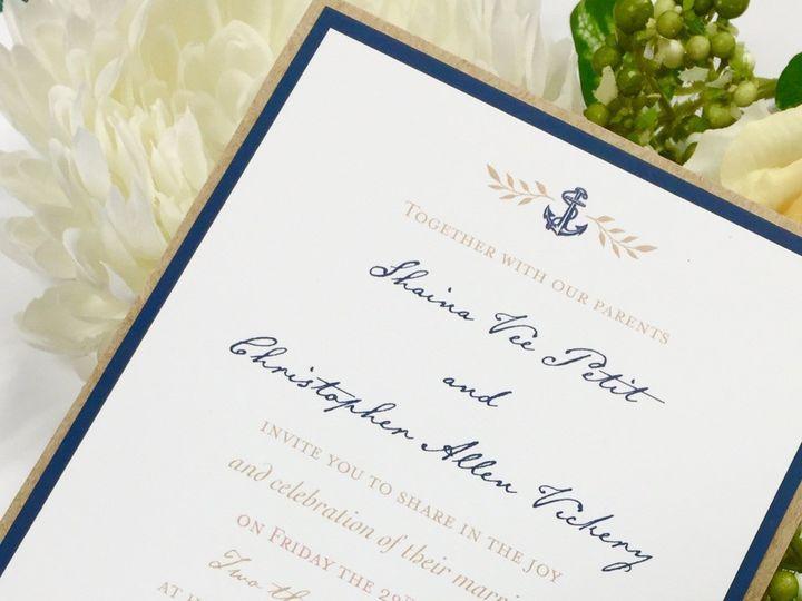 Tmx 1482178630031 Fullsizerender 5 East Bridgewater wedding invitation