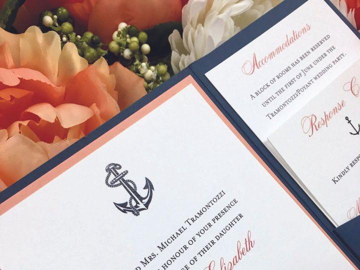 Tmx 1482178658324 Fullsizerender 2 Copy East Bridgewater wedding invitation