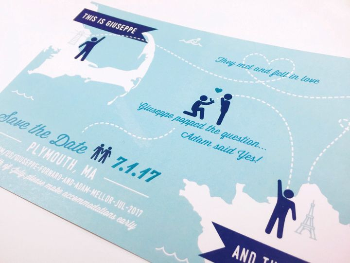 Tmx 1482178733567 Fullsizerender 3 East Bridgewater wedding invitation