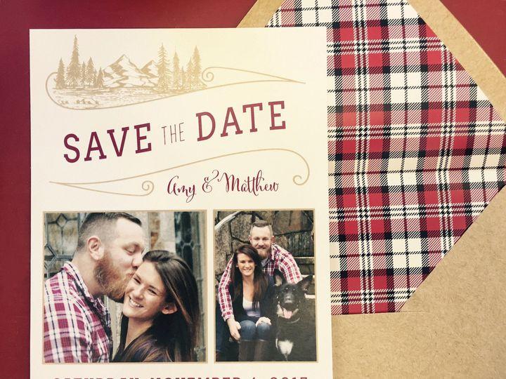 Tmx 1487871511049 Img0088 East Bridgewater wedding invitation