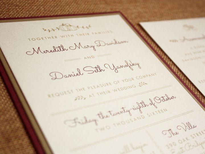 Tmx 1488488387974 Img3935 East Bridgewater wedding invitation