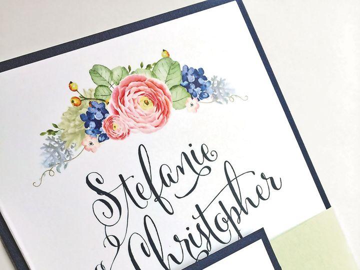 Tmx 1491852287296 Stefanie Burns Floral Photo  Web East Bridgewater wedding invitation
