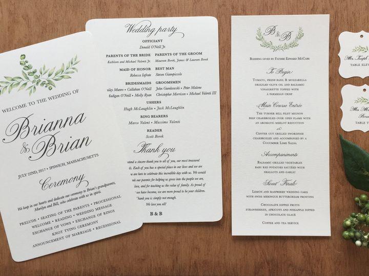 Tmx 1500063173659 Brianna Valentistationary Photo East Bridgewater wedding invitation