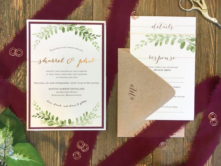 Tmx Img 4956 51 365627 V1 East Bridgewater wedding invitation