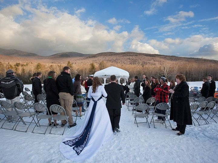 Tmx 1477412162553 Down The Aisle   Winter Lincoln, NH wedding venue