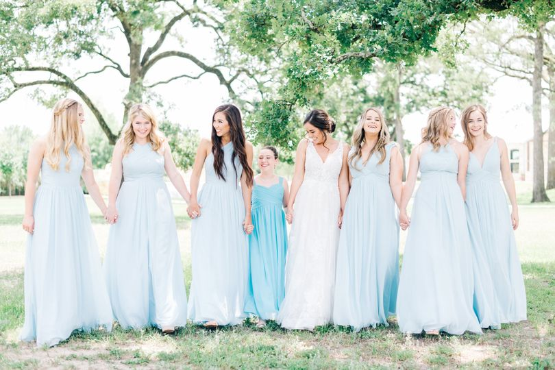 The fun of being bridesmaids