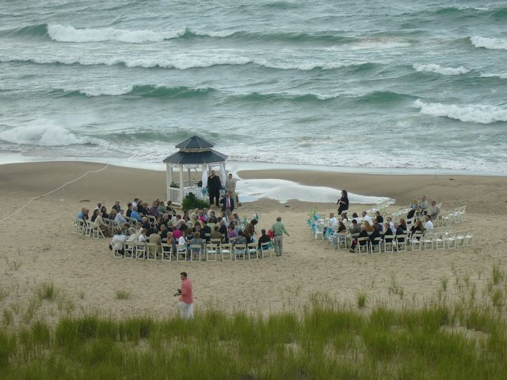 wedding at lake michiga