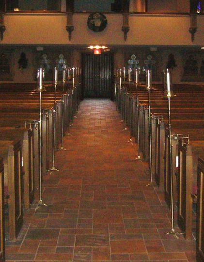 church candelabr