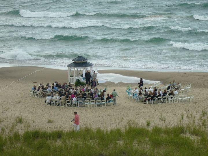 Tmx 1395775866962 Wedding At Lake Michiga Kalamazoo wedding rental