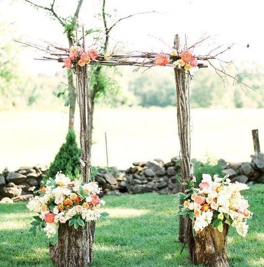 Floral Arch/Cuppah Inspo