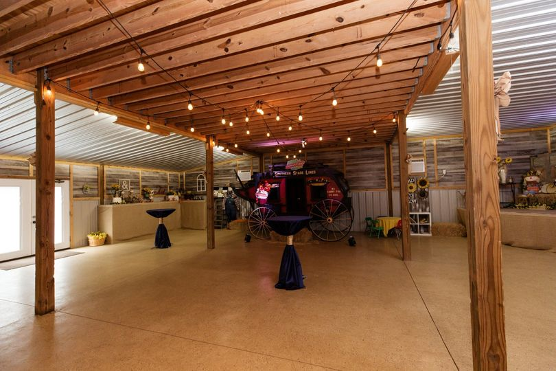 Red barn event space