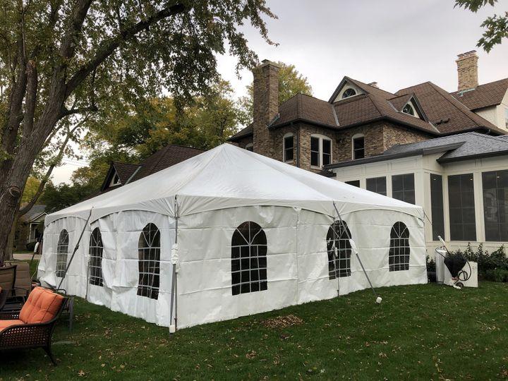 30x30 Heated Tent