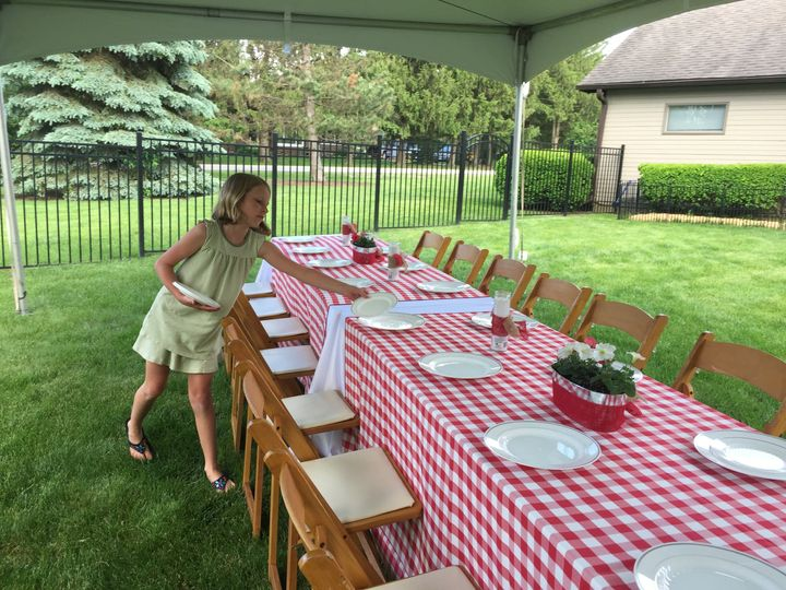 90th Birthday Tent Party
